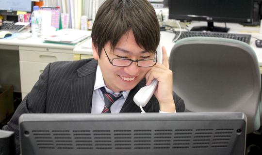営業職 メール・電話お問い合わせ対応