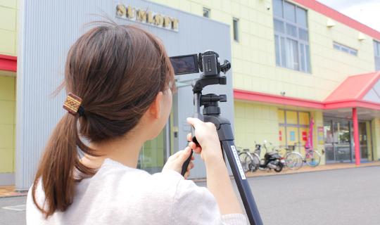 広報・マーケティング職 社員向け動画の制作