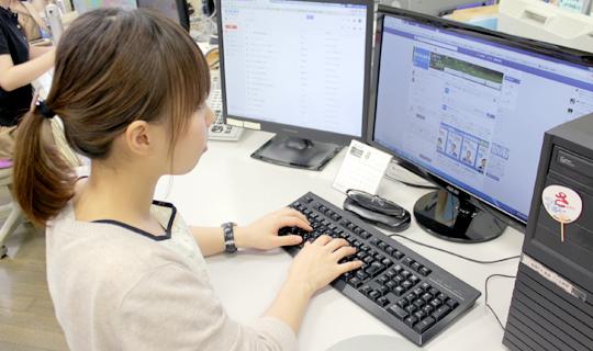 広報・マーケティング職 Webサイト・Facebookページの更新