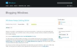 発表されたマイクロソフトの公式Blog